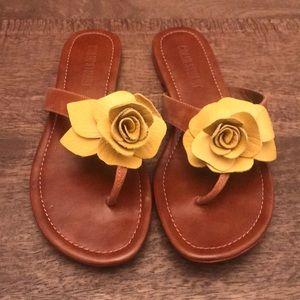 Colin Stuart Flower Sandals